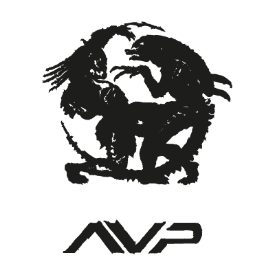 Alien vs predator vector logo