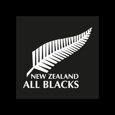 All Blacks New Zealand vector logo
