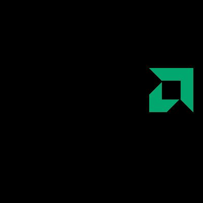 AMD Black vector logo