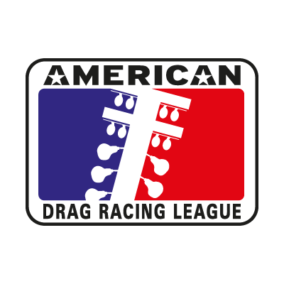 American Drag Racing League vector logo