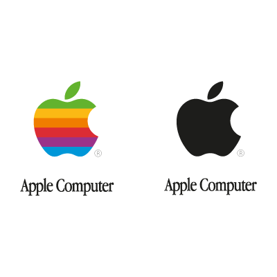 Apple Computer vector logo