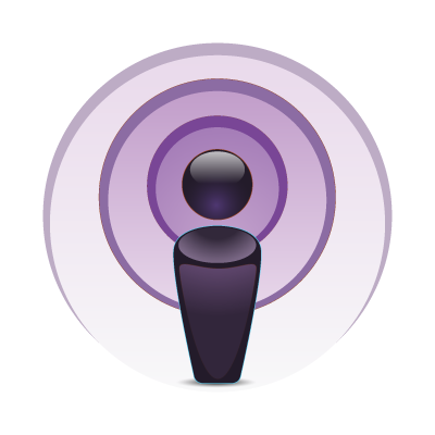 Apple Podcast vector logo