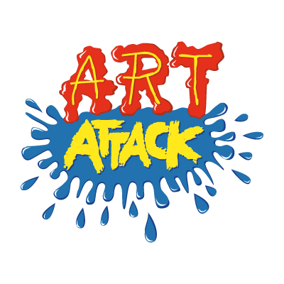 Art attack vector logo
