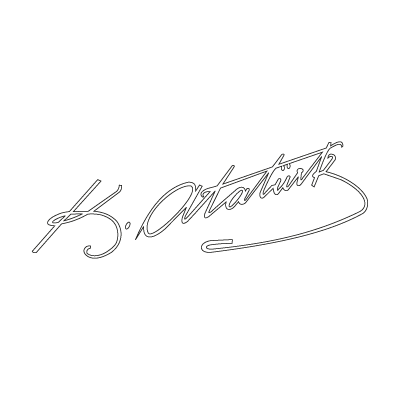 Ata imza vector logo
