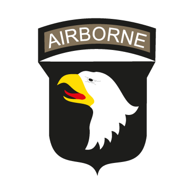 Airborne U.S. Army vector logo