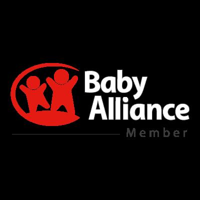 Baby alliance vector logo