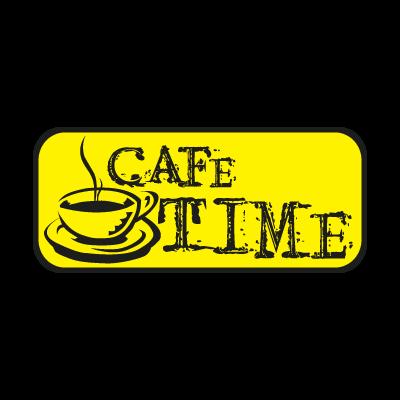 CAFE TIME vector logo