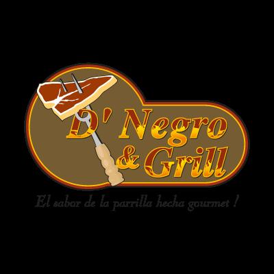 D' Negro & Grill vector logo