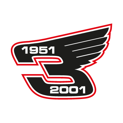 Dale Earnhardt Wings vector logo