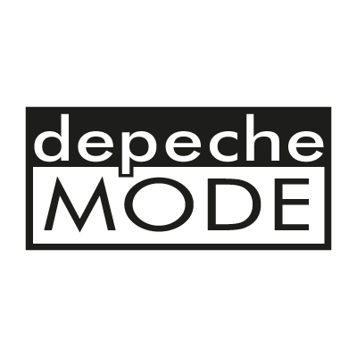 Depeche Mode Music vector logo