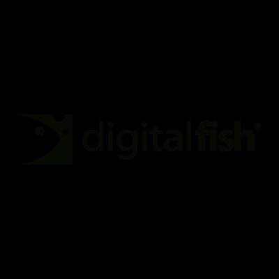 Digital Fish vector logo