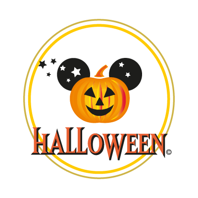 Disney Halloween vector logo