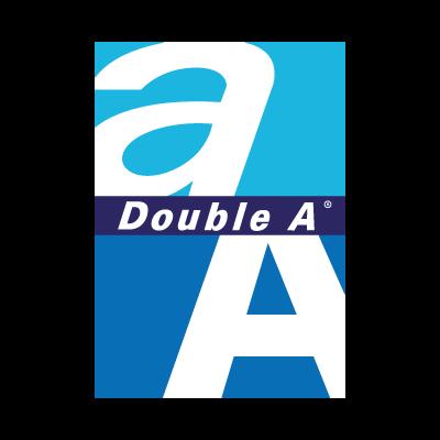 Double A vector logo