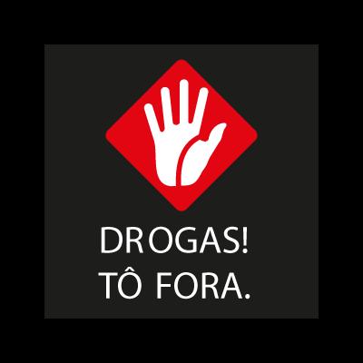Drogas ! To Fora vector logo
