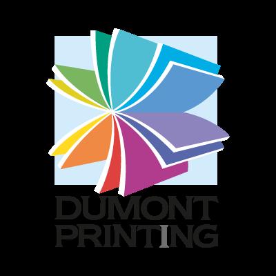 Dumont Printing vector logo