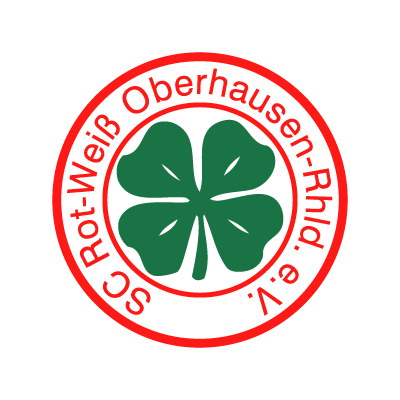 SC Rot-WeiB Oberhausen vector logo