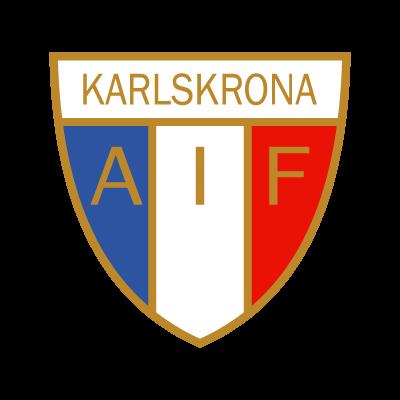 Karlskrona AIF vector logo