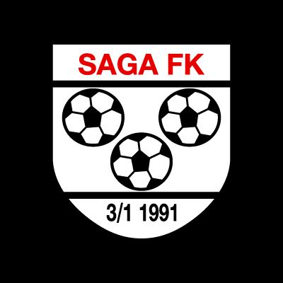 Saga FK vector logo