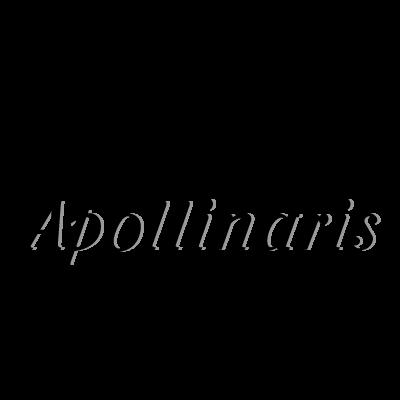 Apollinaris Black vector logo