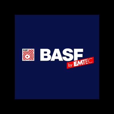 BASF by EMTEC vector logo