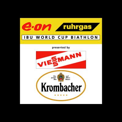 E-on Ruhrgas IBU Biathlon Worldcup vector logo