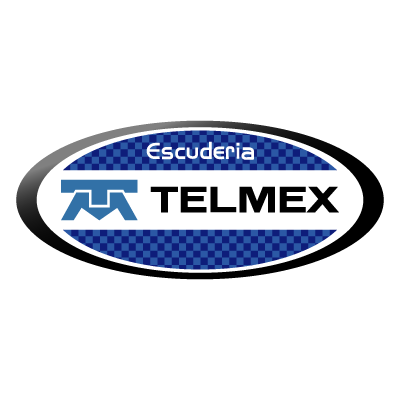 Escuderia Telmex vector logo