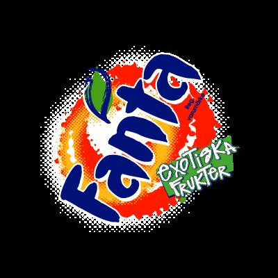 Fanta Exotiska vector logo