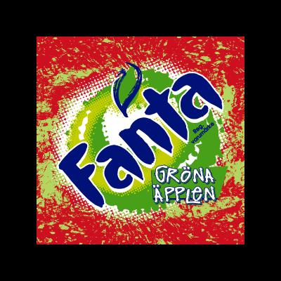 Fanta Green Apple vector logo
