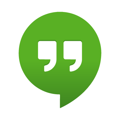Google Hangouts vector logo