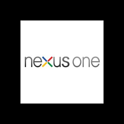 Google nexus one vector logo