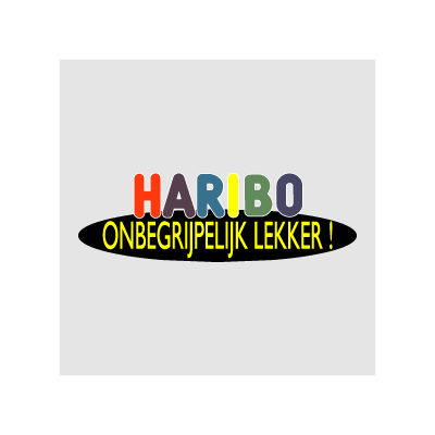Haribo Onbegrijpelijk lekker vector logo