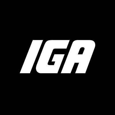 IGA supermarkets vector logo