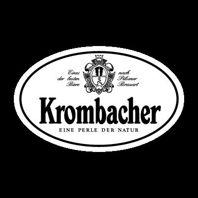 Krombacher Black vector logo