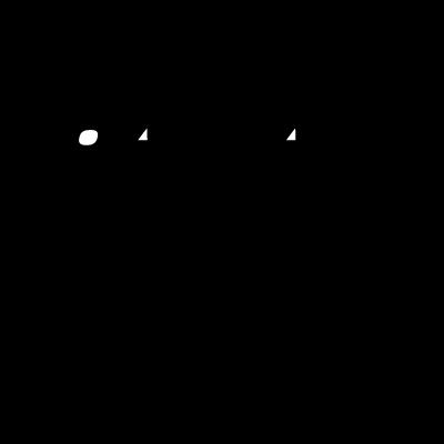 Qantas Black vector logo
