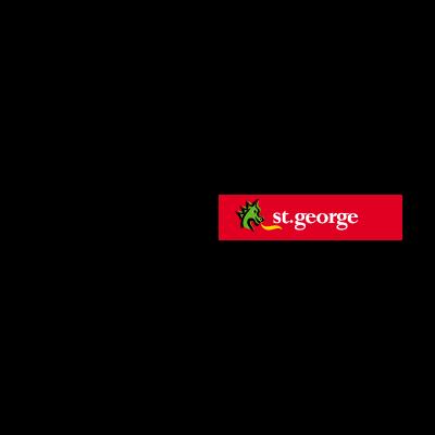 St. George Bank Australian vector logo