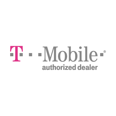 T-Mobile authorized dealer vector logo