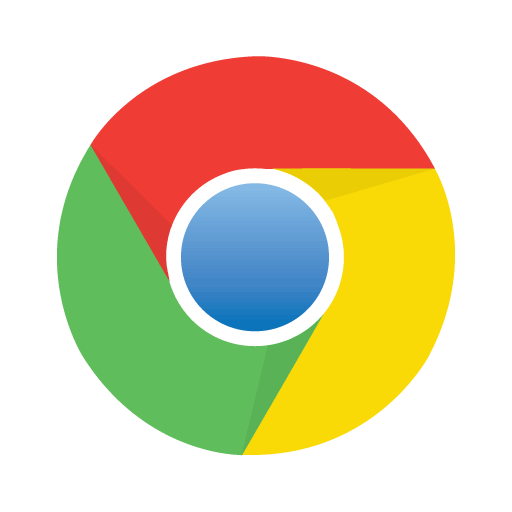 Google Chrome logo vector download free