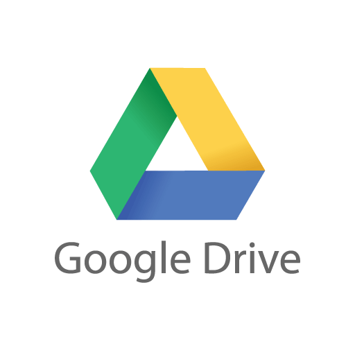 Google Drive vector logo free