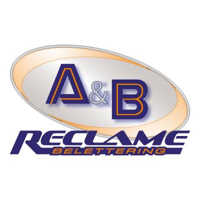 A&B reclame logo vector - Logo A&B reclame download