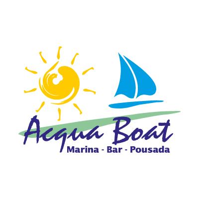 Acqua Boat logo vector - Logo Acqua Boat download