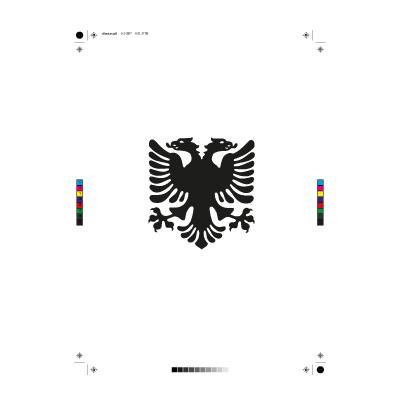 Albanain eagle logo vector - Logo Albanain eagle download