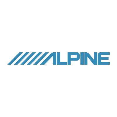 Alpine logo vector - Logo Alpine download