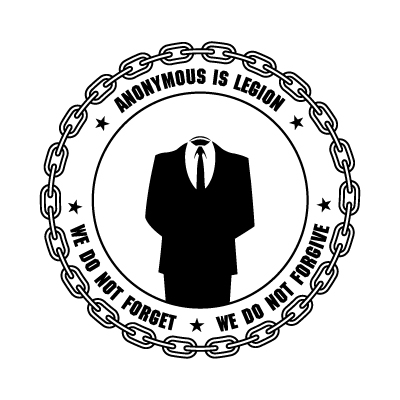 Anonymous logo vector - Logo Anonymous download