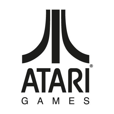 Atari Games Black logo vector - Logo Atari Games Black download