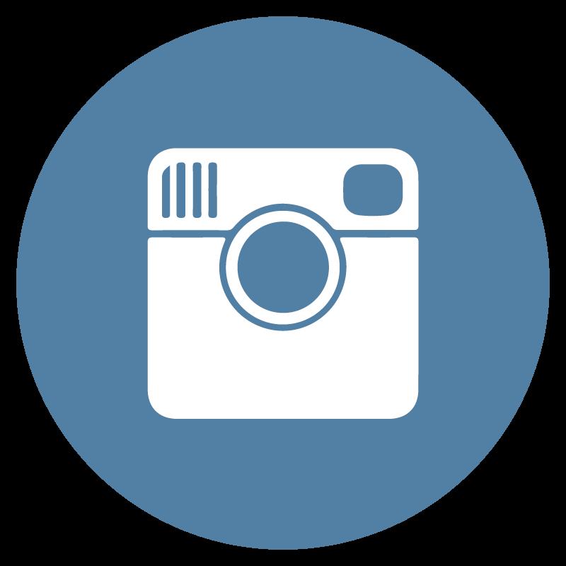 Instagram icon circle logo