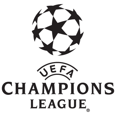 UEFA Champions League team logos vector