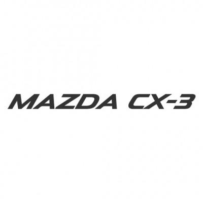 Mazda CX-3 logo vector download