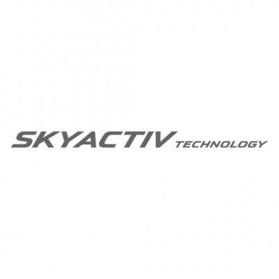 Mazda Skyactiv logo vector download