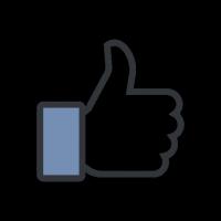 Facebook Like vector download