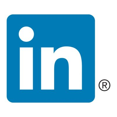 LinkedIn icon vector download